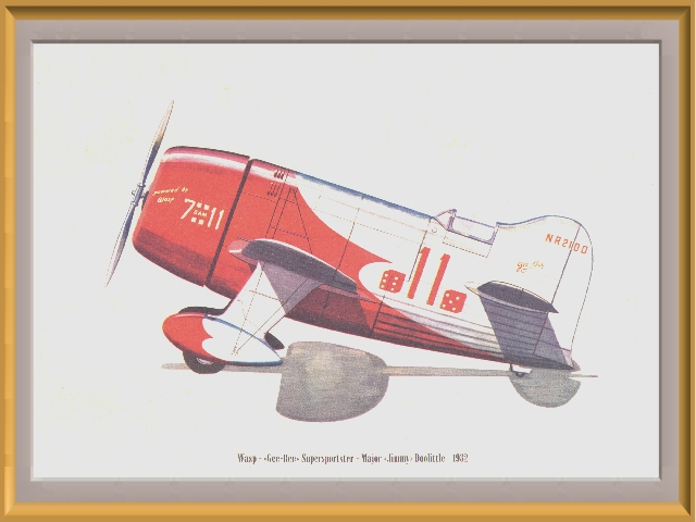 The Gee Bee R1 and R2